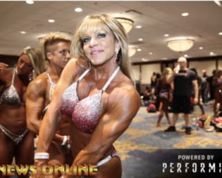 """2018 NPC North American Women's Physique """"Over 40"""" Pt.2 BackStage Video"""