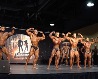 2019 IFBB Pro League Legion Sports FestMen's Classic Physique Prejudging Video