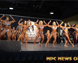 2019 IFBB Pro League Legion Sports FestWomen's Physique Prejudging Video.