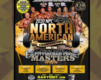 BREAKING NEWS! The NPC NORTH AMERICAN CHAMPIONSHIPS has been moved to the WYNDHAM GRAND HOTEL DOWNTOWN PITTSBURGH! SAME DATES!