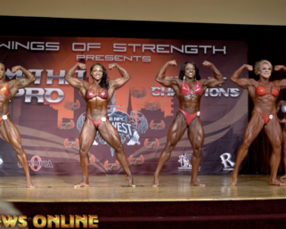2020 IFBB PRO LEAGUE OMAHA PRO WOMEN'S BODYBUILDING 1st CALL OUTS VIDEO