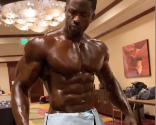 You can almost smell the Pro Tan®️ when you watch this video! Backstage with IFBB Pro George Brown.