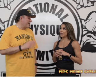 IFBB Pro League Bikini Pro Jennifer Ronzitti Interview With J.M. Manion
