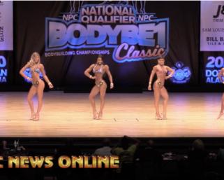 2020 NPC Body Be 1 ClassicBikini Open Overall Video