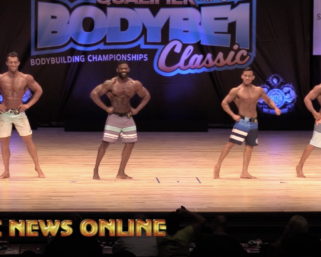 2020 NPC Body Be 1 Classic: Men's Physique Open Overall Video