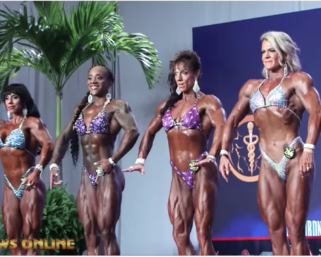 Recap Video: 2019 IFBB Pro League Wings of Strength Women's Physique Video
