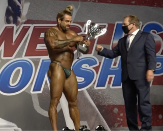 2020 NPC Southwest USA Championships Men's Bodybuilding Overall Winner Trenton Pierce