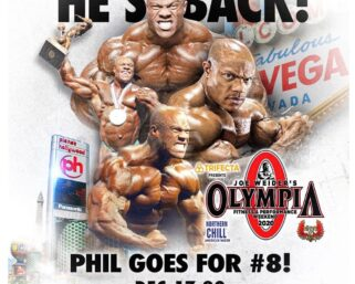 BREAKING NEWS: 7-time Mr. Olympia Phil Heath Will Return To The Olympia Stage