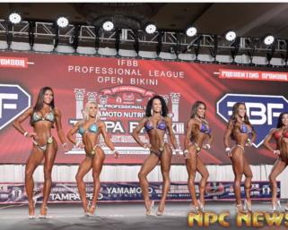 2020 IFBB Pro League Tampa Pro Bikini Prejudging Video