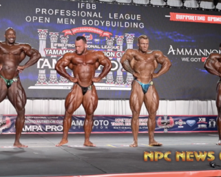 2020 IFBB Pro League Tampa Pro Bodybuilding Prejudging Video