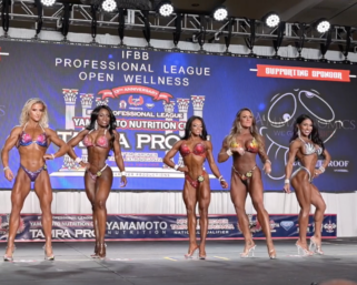 2020 IFBB Pro League Tampa Pro Wellness Prejudging Video