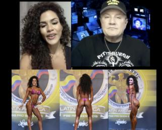 IFBB Pro League Interview Series: Bikini Pro Etila Santiago