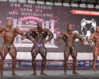 2020 IFBB Pro League Tampa Pro Men's 212 Bodybuilding  Prejudging Video
