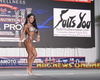 2020 IFBB Pro League Tampa Pro Wellness Prejudging Routines