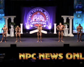 2020 NPC TOTAL BODY CHAMPIONSHIPS BODYBUILDING OVERALL VIDEO