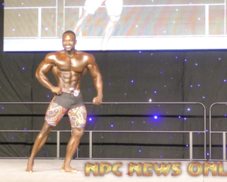 2020 IFBB Pro League Southeast Texas Men's Physique 2nd Place Winner Rashaud Watson Posing Routine