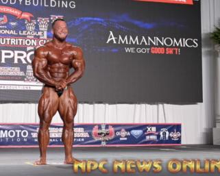 2020 IFBB Pro League Tampa Pro Bodybuilding Winner Hunter Labrada Posing Routine