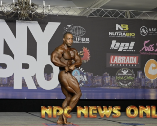 2020 IFBB Pro League NY Pro Men's 212  Bodybuilding Winner Bo Lewis Posing Routine.