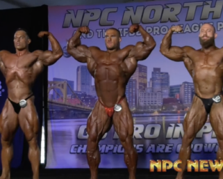 2020 #NPCNorthAmerican Men's Bodybuilding Overall Posedown