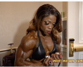 2020 @ifbb_pro_league NY Pro Women's Bodybuilding Backstage Video