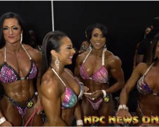 2020 @ifbb_pro_league NY Pro Women's Figure Backstage Video.