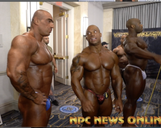 2020 @ifbb_pro_league NY ProMen's Bodybuilding Backstage .