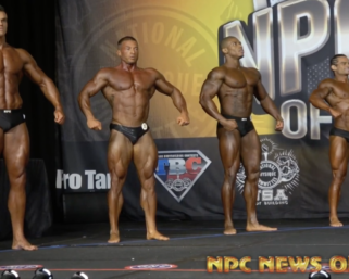 2020 NPC Show of Champions Classic Physique Overall Winner Video