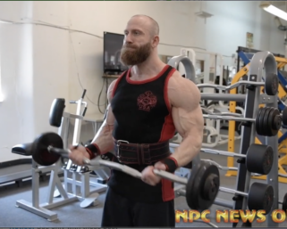 Open Middleweight Bodybuilding 2020 NPC North American Winner Nathan Glaser Training Video