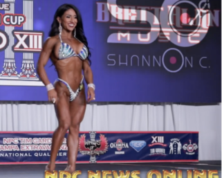 2020 @ifbb_pro_league Tampa Pro  Wellness Finals Routines Video.