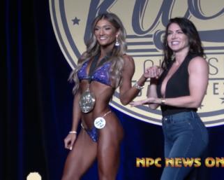2020 NPC Steve Kuclo Classic Bikini Overall Winner Lindsey Tucker Broussard