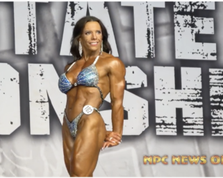 2020 NPC Texas State Championships Women's Physique Overall Winner Molly McNew