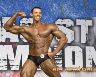 2020 NPC Texas State Championships Classic Physique Overall Winner Joe McNelis