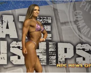 2020 NPC Texas State Championships Wellness Overall Winner Nicole Stewart