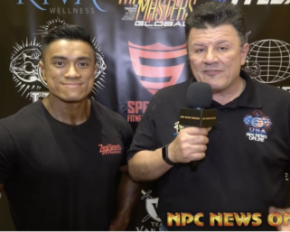 2020 IFBB BATTLE IN THE DESERT Men's Physique Winner JASON HUYNH interviewed by J.M Manion