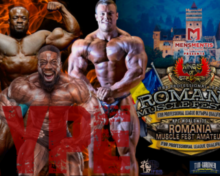 Pro League HYPE Show  – Romania Muscle Fest Pro co-promoter Alina Popa from Wings of Strength.
