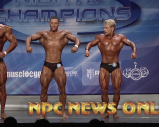 2020 NPC Night of Champions Classic Physique Finals Video
