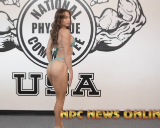 2020 Road To The Olympia with IFBB Pro League Bikini Pro Casey Samsel Posing Video