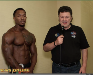 2020 NPC Universe Men's Physique Overall Winner Lamont Patillo After Show Interview
