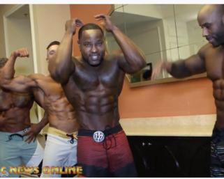 2020 NPC Universe Men's Backstage Video.