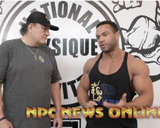 2020 Road To The Olympia Interview with @ifbb_pro_league Classic Physique Pro Alex Cambronero