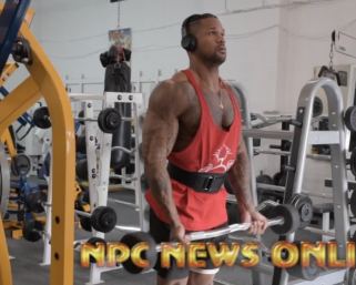 2020 Road To The Olympia: IFBB Pro League Men's Physique Pro Clarence McSpadden Samurai Shredder Workout
