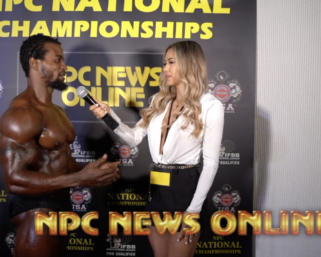 2020 NPC National Championships Classic Physique Overall Winner Kevin Ogbebor