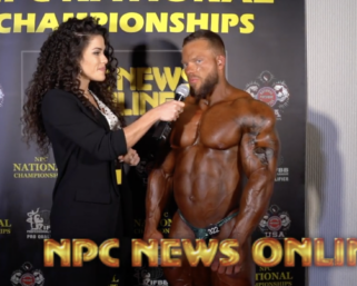 2020 NPC National Championships Bodybuilding Overall Winner Jonathan Withers