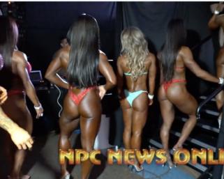 2020 NPC National Championships Women's Backstage Pt 3 Video