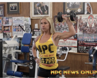 2020 Road To The Olympia  IFBB Pro League Bikini Pro Hannah Ranfranz Workout Routine