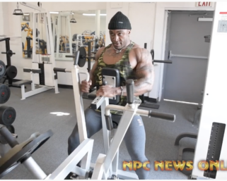 Road To The 2020 Olympia @ifbb_pro_league Men's Physique @iamcharjo Workout At The NPC Photo Gym