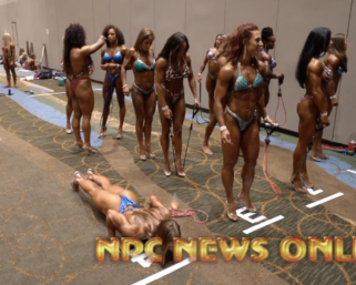 2020 NPC National Championships Women's Backstage Pt 4 Video