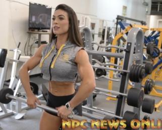 2020 Road To The Olympia: Bikini Olympia Champion Isa Pecini Shoulder Workout