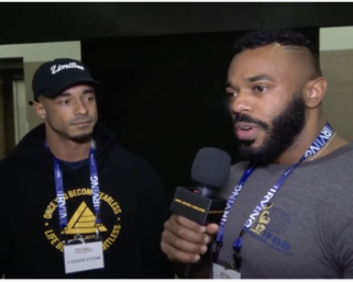 2020 IFBB Pro League Battle Of Texas Men's Check- In Interviews With Tony Taveras