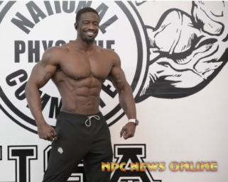2020 Road To The Olympia: IFBB Pro League Men's Physique Pro George Brown Posing